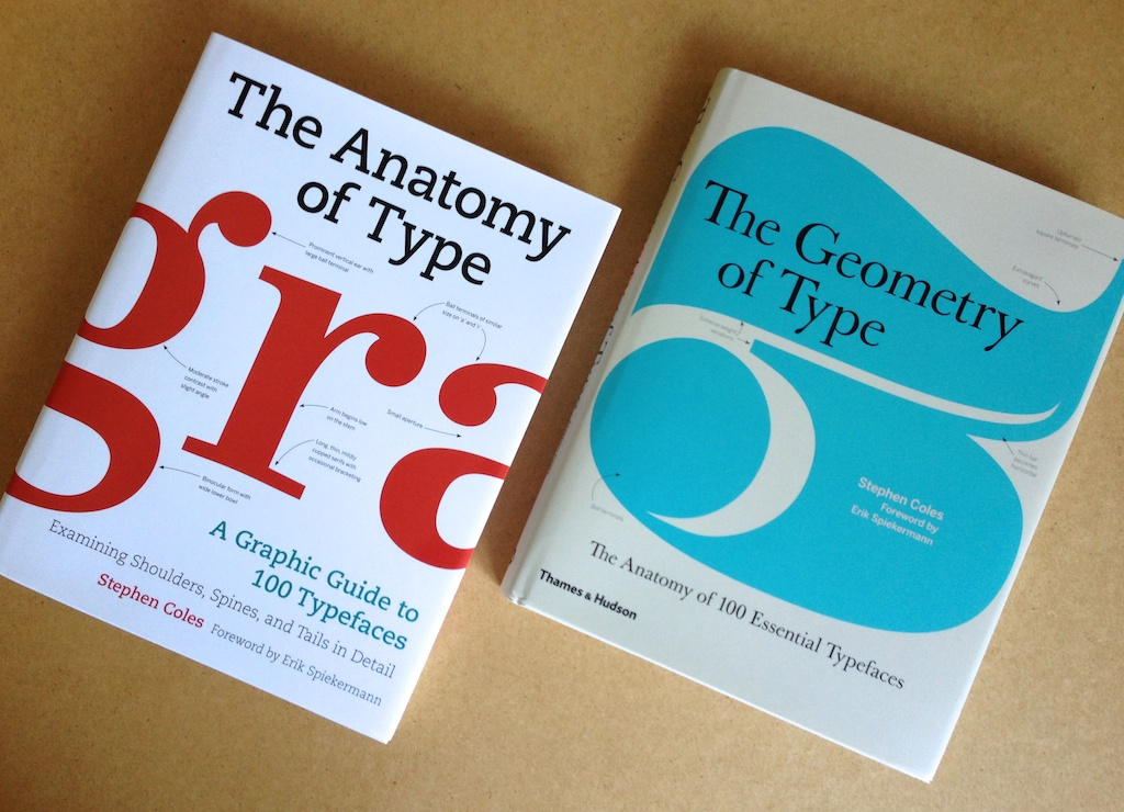 The Anatomy of Type: A Graphic Guide to 100 TypefacesAKA The Geometry of Type: The Anatomy of 100 Essential Typefaces Students and professionals in any creative field can benefit from a good typographic eye. The Anatomy of Type (published in the UK as The Geometry of Type) is all about looking more closely at letters. Through visual diagrams and practical descriptions, you'll learn how to distinguish between related typefaces and see how the attributes of letterforms (such as contrast, detail, and proportion) affect the mood, readability, and use of each typeface. Nutritional value aside, the spreads full of big type make tasty eye candy, too. The typefaces featured in the book are hand-picked by the author for their functionality and stylistic relevance in today's design landscape. Along with several familiar faces (such as Garamond, Bodoni, Gill Sans, and Helvetica), you'll also discover contemporary fonts that are less common — and often more useful — than the overused classics. This website will be updated with news and resources related to the book's content. Subscribe to the RSS feed or follow on Tumblr for updates.